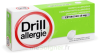 Drill 10 Mg Comprimés à Sucer Allergie Cétirizine Plq/7 à SOUILLAC