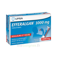 Efferalgan 1g Cappuccino Granules 8 Sachets à SOUILLAC