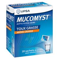 Mucomyst 200 Mg Poudre Pour Solution Buvable En Sachet B/18 à SOUILLAC