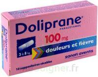 Doliprane 100 Mg Suppositoires Sécables 2plq/5 (10) à SOUILLAC