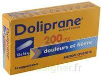 Doliprane 200 Mg Suppositoires 2plq/5 (10) à SOUILLAC