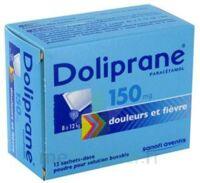 Doliprane 150 Mg Poudre Pour Solution Buvable En Sachet-dose B/12 à SOUILLAC