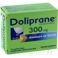 Doliprane 300 Mg Poudre Pour Solution Buvable En Sachet-dose B/12 à SOUILLAC