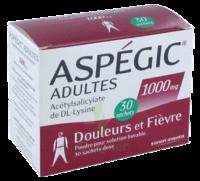 Aspegic Adultes 1000 Mg, Poudre Pour Solution Buvable En Sachet-dose 30 à SOUILLAC