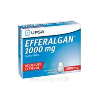 Efferalgan 1000 Mg Comprimés Pelliculés Plq/8 à SOUILLAC
