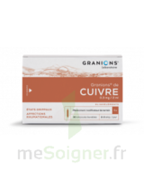 Granions De Cuivre 0,3 Mg/2 Ml S Buv 30amp/2ml à SOUILLAC