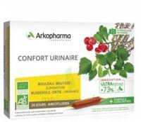 Arkofluide Bio Ultraextract Solution Buvable Confort Urinaire 20 Ampoules/10ml à SOUILLAC