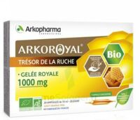 Arkoroyal Gelée Royale Bio 1000 Mg Solution Buvable 20 Ampoules/10ml à SOUILLAC