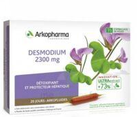Arkofluide Bio Ultraextract Desmodium Solution Buvable 20 Ampoules/10ml à SOUILLAC
