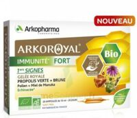 Arkoroyal Immunité Fort Solution Buvable 20 Ampoules/10ml à SOUILLAC