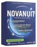 Novanuit Triple Action Comprimés B/30 à SOUILLAC