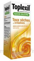 Toplexil 0,33 Mg/ml Sans Sucre Solution Buvable 150ml à SOUILLAC