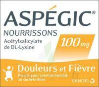 Aspegic Nourrissons 100 Mg, Poudre Pour Solution Buvable En Sachet-dose à SOUILLAC