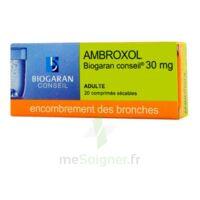 Ambroxol Biogaran Conseil 30 Mg, Comprimé Sécable à SOUILLAC