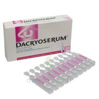 Dacryoserum Solution Pour Lavage Ophtalmique En Récipient Unidose 20unidoses/5ml à SOUILLAC