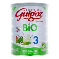 Guigoz Bio Croissance De 10 Mois à 3 Ans à SOUILLAC