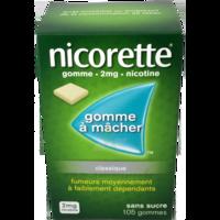Nicorette 2 Mg Gom à Mâcher Médic Sans Sucre Menthe Fraîche Plq/105gom à SOUILLAC