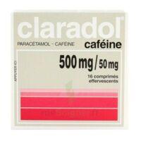 Claradol Cafeine 500 Mg/50 Mg, Comprimé Effervescent à SOUILLAC
