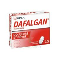 Dafalgan 1000 Mg Comprimés Pelliculés Plq/8 à SOUILLAC
