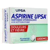 Aspirine Upsa Tamponnee Effervescente 1000 Mg, Comprimé Effervescent à SOUILLAC
