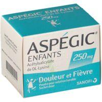 Aspegic Enfants 250, Poudre Pour Solution Buvable En Sachet-dose à SOUILLAC