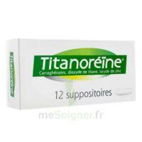 Titanoreine Suppositoires B/12 à SOUILLAC