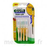 Gum Trav - Ler, 1,3 Mm, Manche Jaune , Blister 4 à SOUILLAC