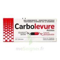 Carbolevure Gélules Adulte Plq/30 à SOUILLAC