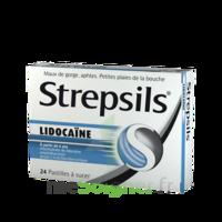 Strepsils Lidocaïne Pastilles Plq/24 à SOUILLAC