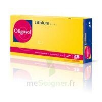 Oligosol Lithium Solution Buvable En Ampoule Ou En Récipient Unidose 28amp/2ml à SOUILLAC