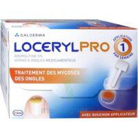 Locerylpro 5 % V Ongles Médicamenteux Fl/2,5ml+spatule+30 Limes+lingettes à SOUILLAC