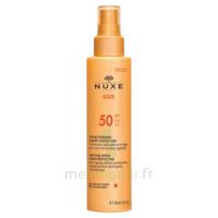 Spray Solaire Visage Et Corps Haute Protection Spf 50 Nuxe Sun150ml à SOUILLAC