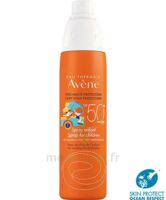 Avène Eau Thermale Solaire Spray Enfant 50+ 200ml à SOUILLAC