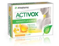 Activox Sans Sucre Pastilles Miel Citron B/24 à SOUILLAC