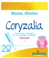 Boiron Coryzalia Solution Buvable Unidose B/20 à SOUILLAC