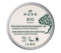 Nuxe Bio Déodorant Baume Fraîcheur 24h Peaux Sensibles Pot/50g à SOUILLAC