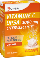 Vitamine C Upsa Effervescente 1000 Mg, Comprimé Effervescent à SOUILLAC