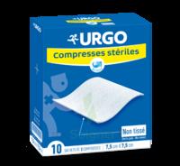 Urgo Compresse Stérile Non Tissée 10x10cm 10 Sachets/2 à SOUILLAC